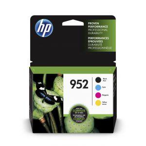 HP 952 BK/C/Y/M ink cartridges, 4PK, X4E07AN