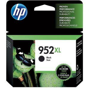HP 952XL High Yield BK Ink Cartridge,F6U19AN